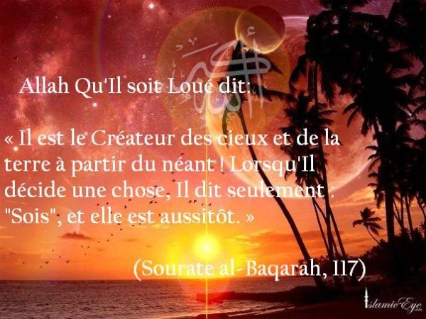 ALLAH-Createur-a-partir-du-neant-sans-concevoir 1